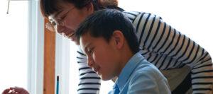 男の子と家庭教師